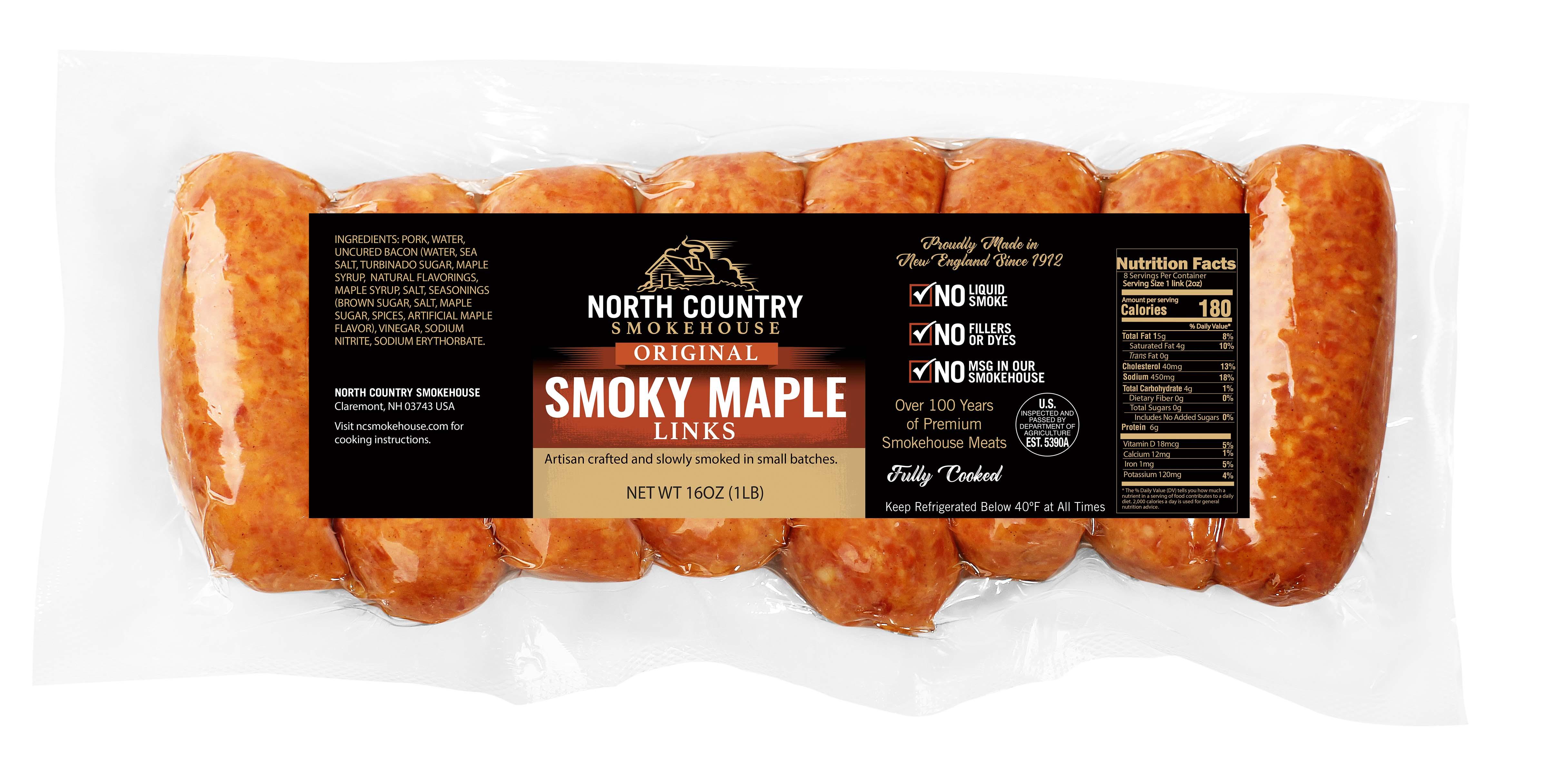 Original Smoky Maple Sausage - 3, 1lb. packages