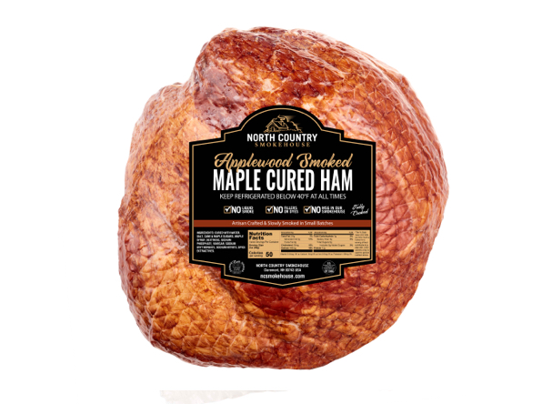Original Maple Cured Bone-In Whole Ham - 1,  16-18 lb. packages
