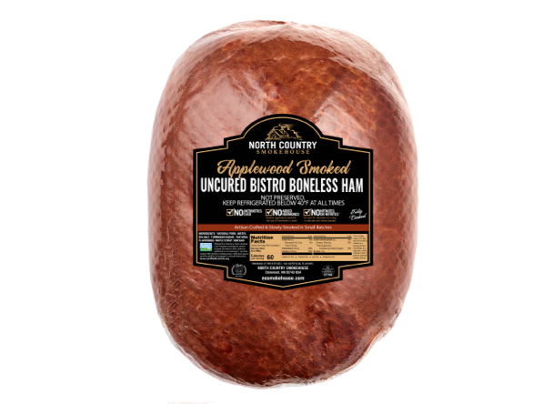 Natural Bistro Boneless Whole Ham - 1, 7-8 lb. package