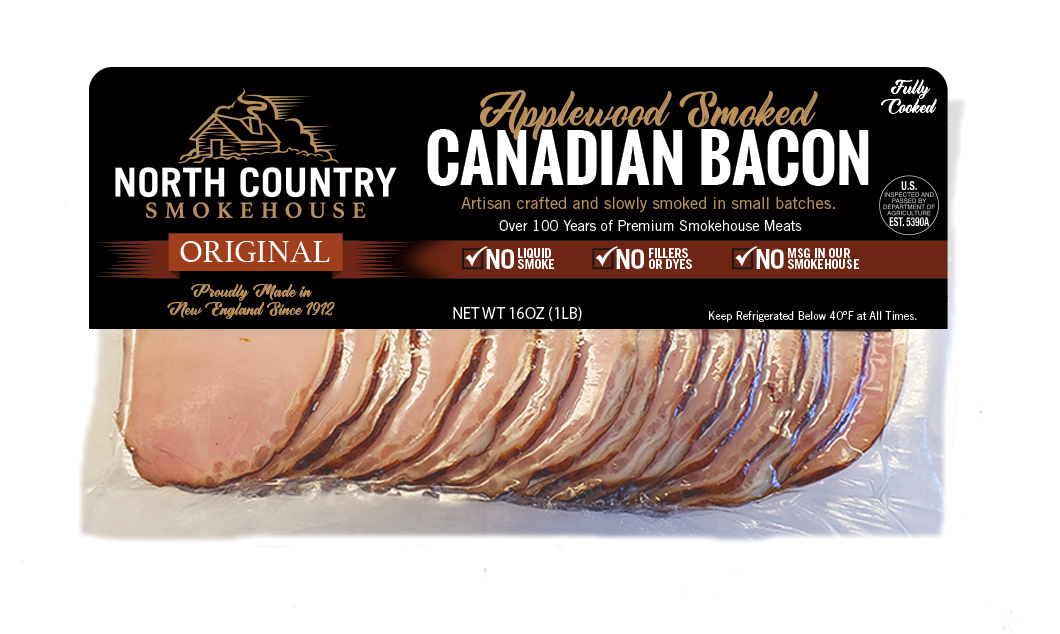 Original Canadian Bacon - 2, 1 lb. packages