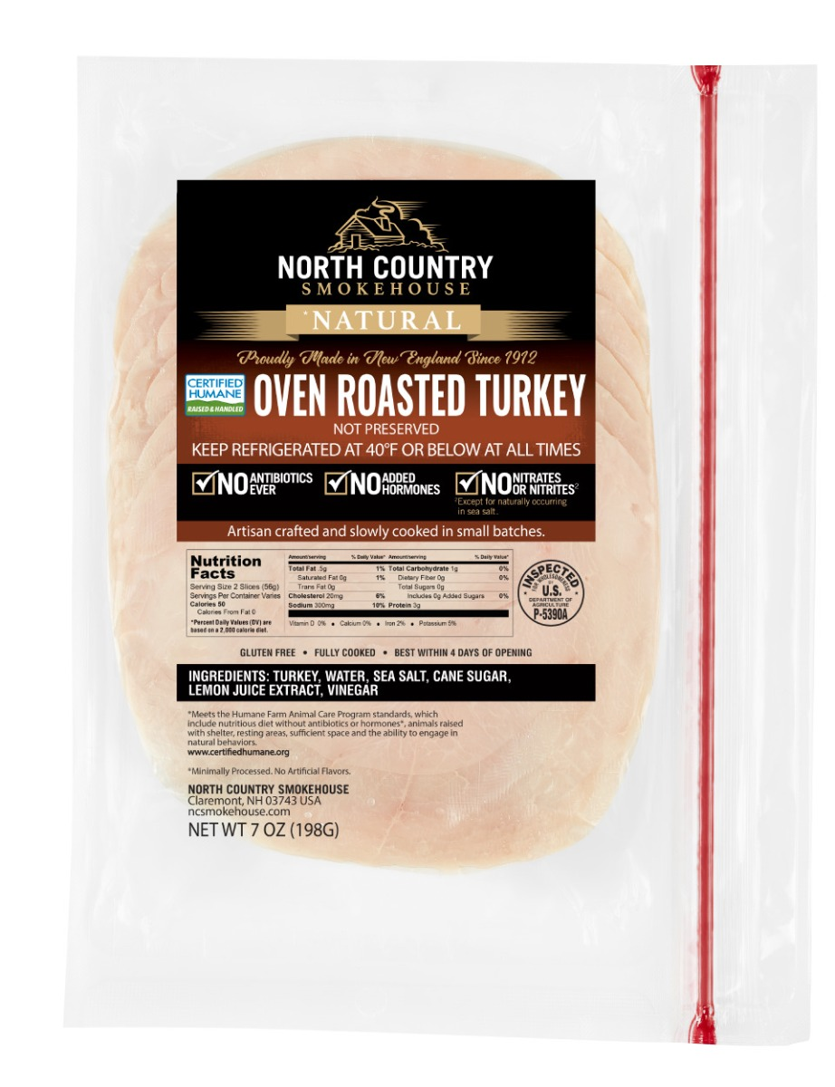 Natural Oven Roasted Deli Turkey - 3, 7 oz. packages
