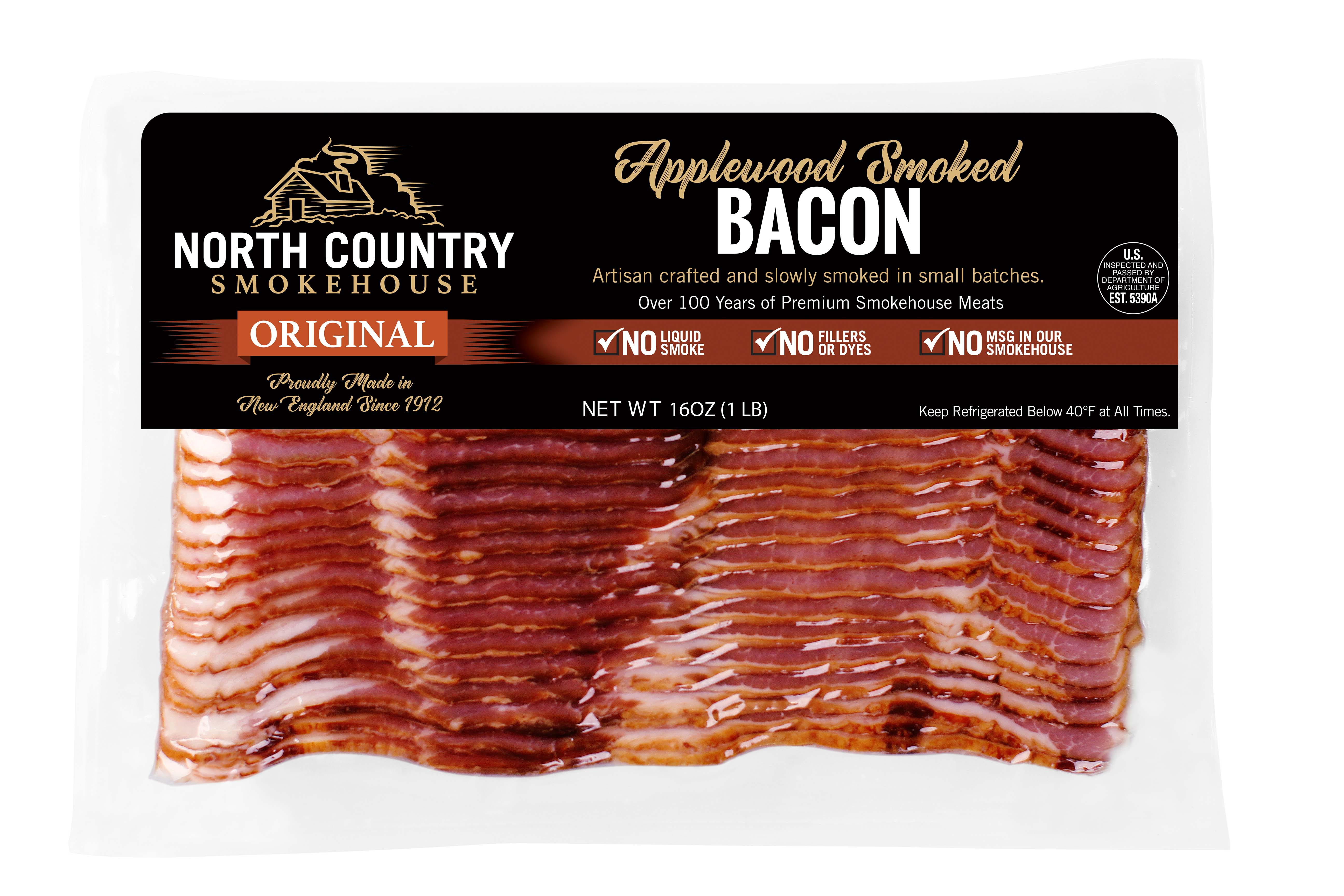 Original Applewood Smoked Bacon  - 2, 1 lb. packages
