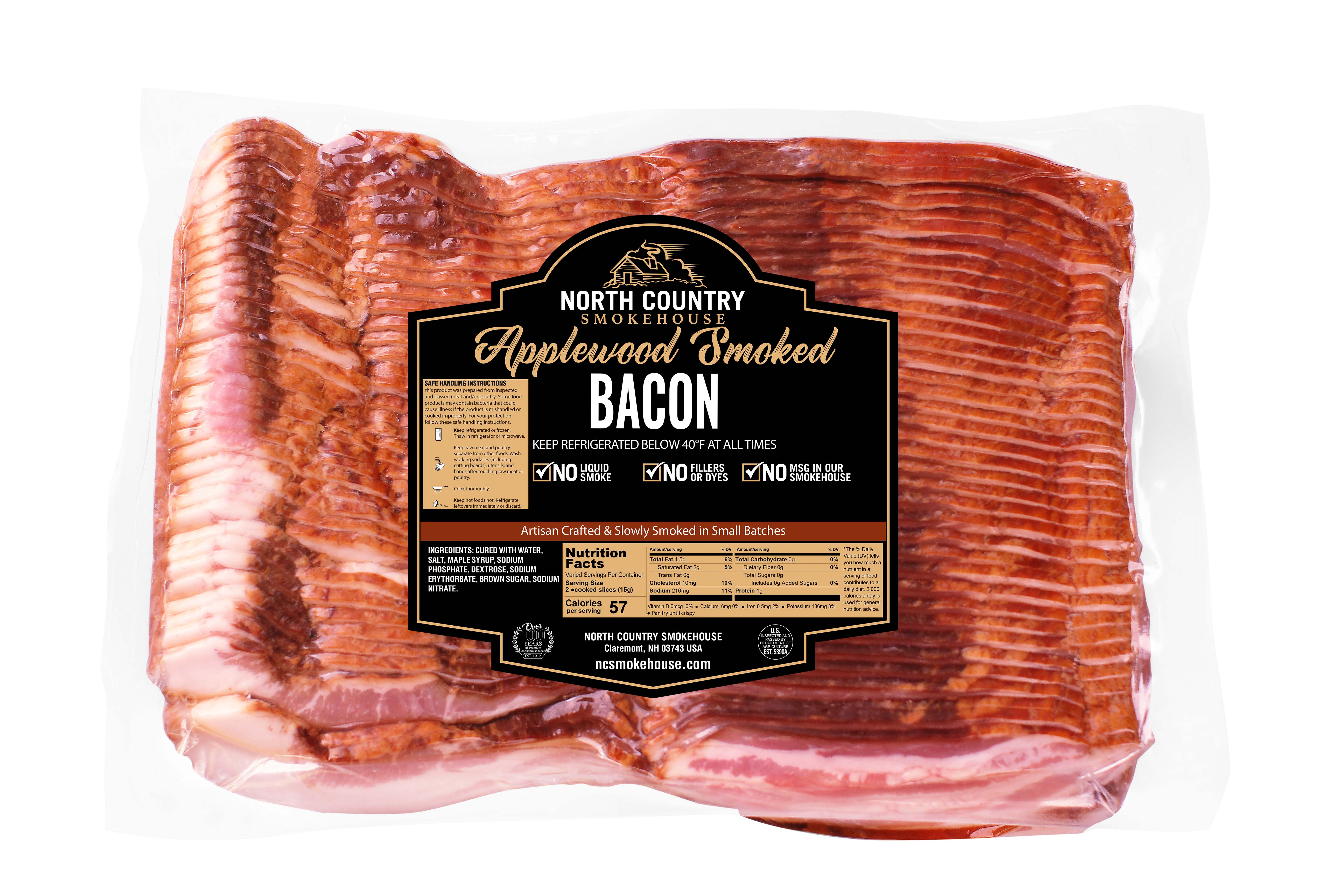 Original Applewood Smoked Bacon - 1, 5 lb. package