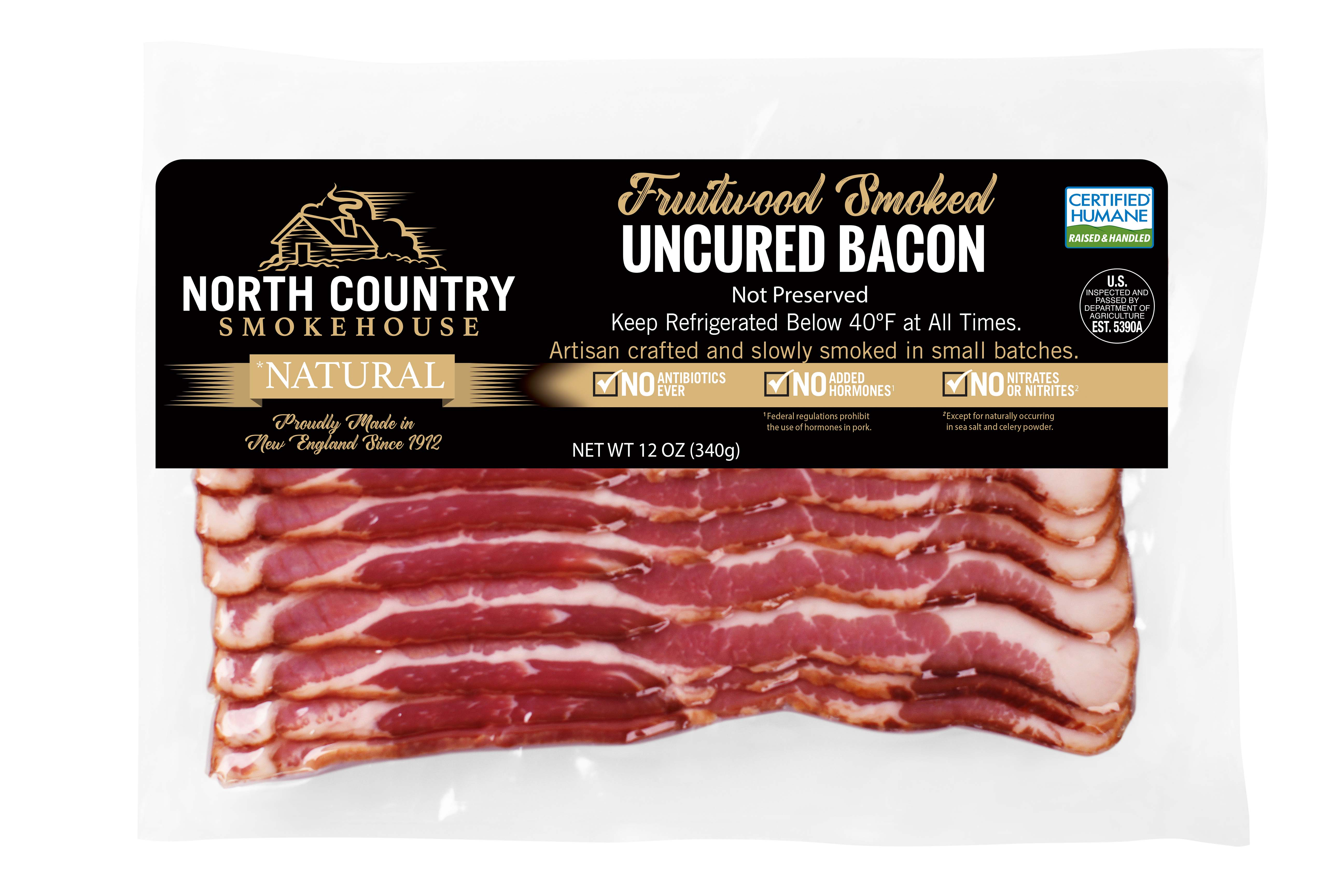 Natural Fruitwood Smoked Bacon - 2, 12 oz. packages