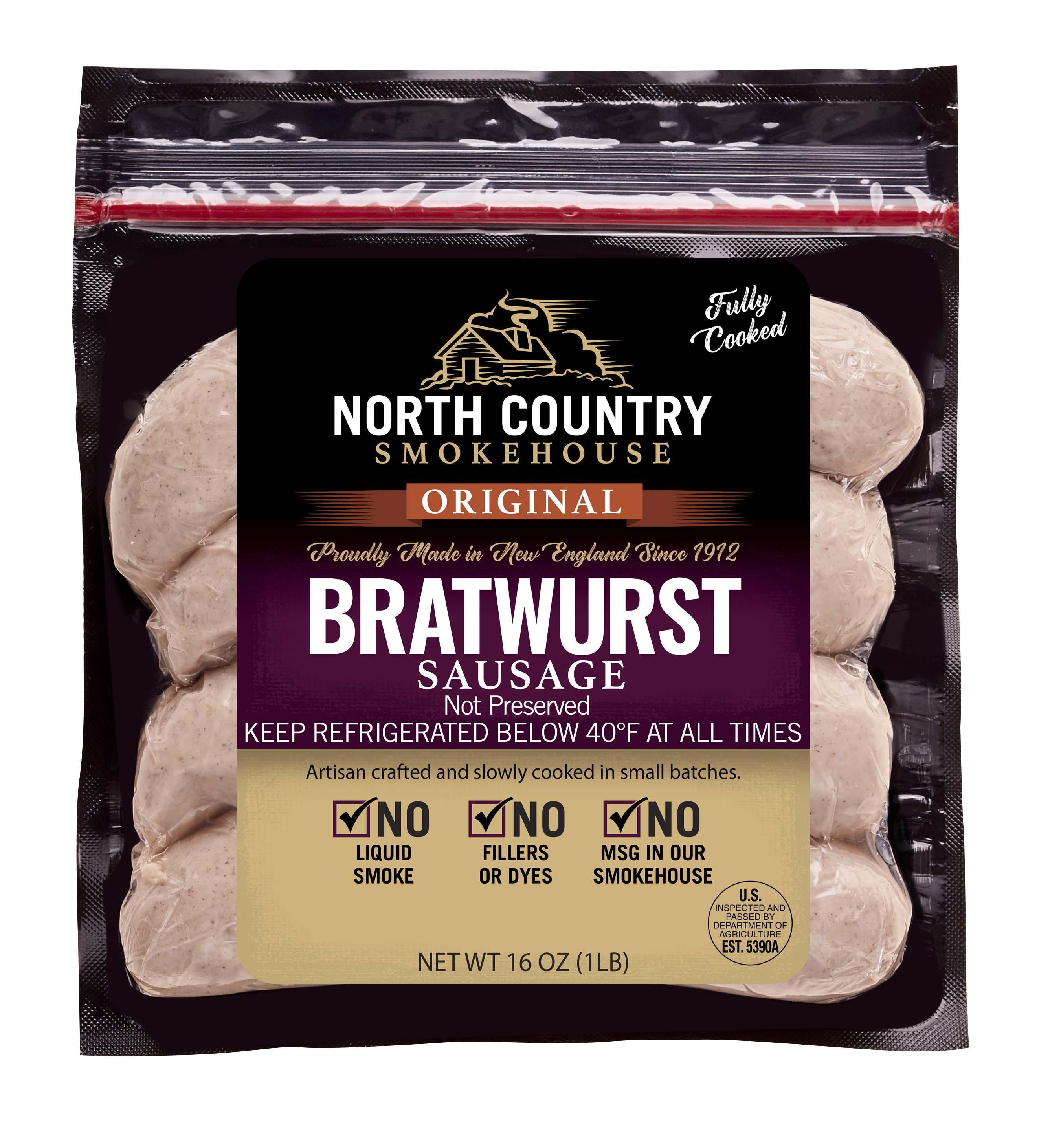 Original Bratwurst Sausage - 3, 1 lb. packages