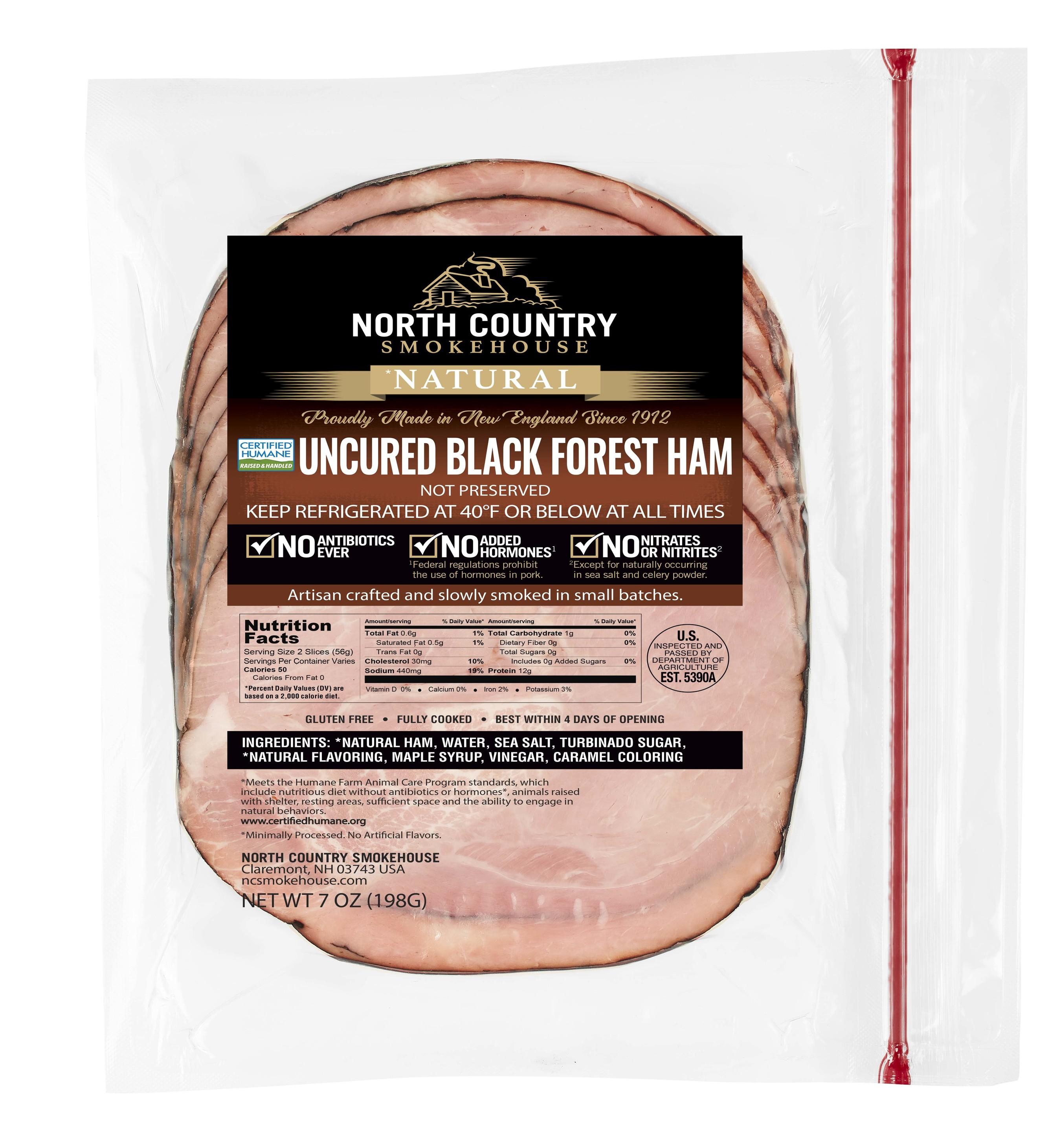 Natural Black Forest Deli Ham - 3, 7 oz. packages