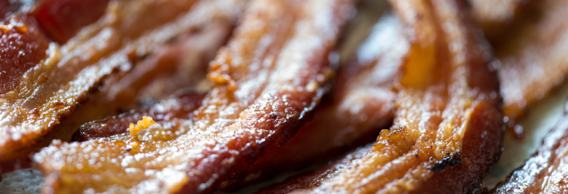 Sweet & Spicy Honey Glazed Bacon