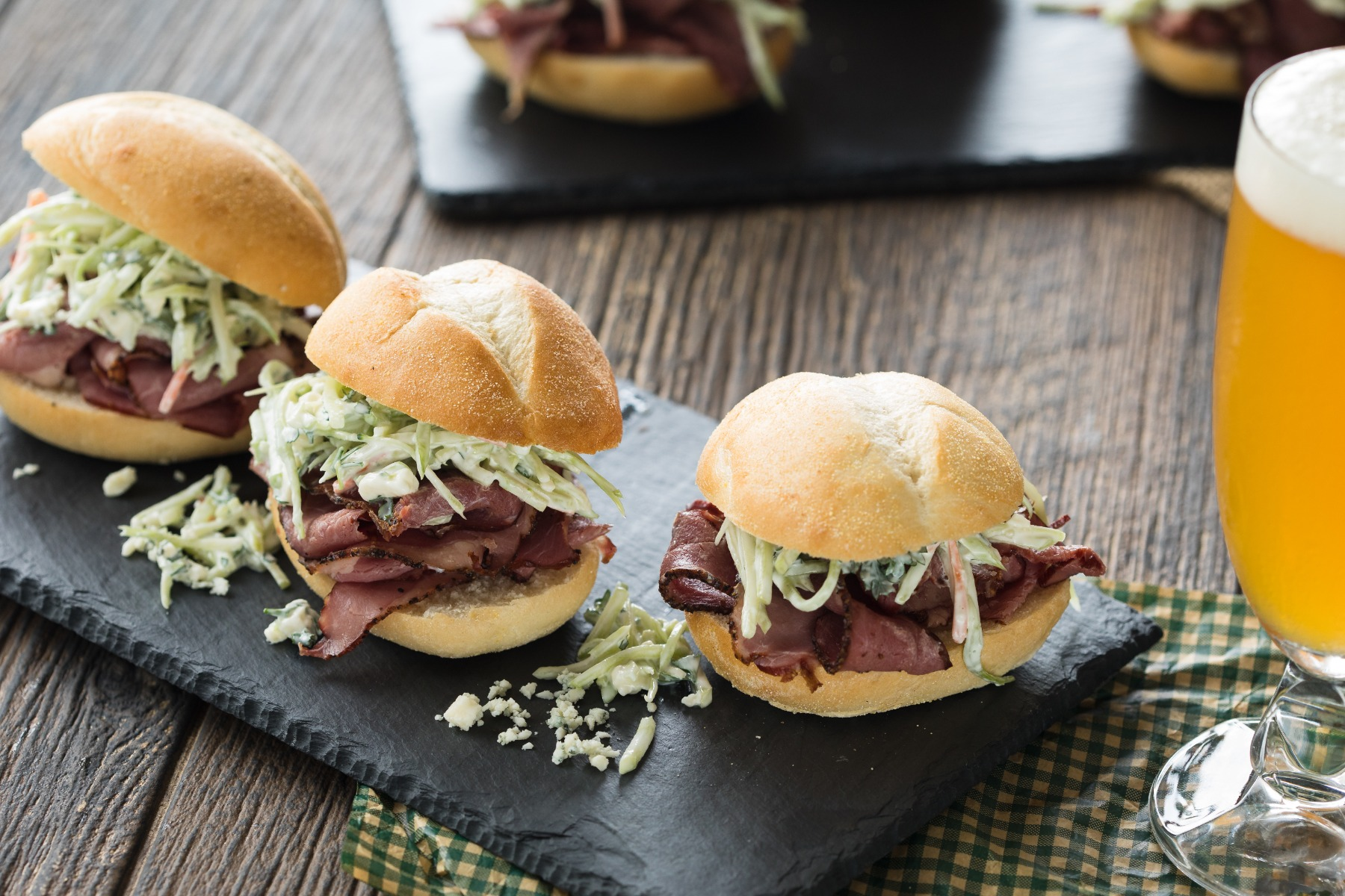 Smoked Brisket Sliders